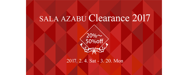 ■■■ Clearance Sale 2017 ■■■